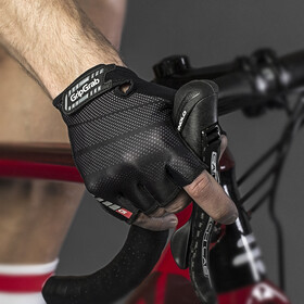 GripGrab Rouleur Short Cycling Gloves Black